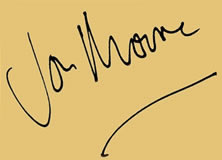 Click this signature logo of Jon Moore to enter the website